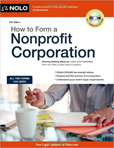 How to Form a Nonprofit Corporation (How to Form a Nonprofit