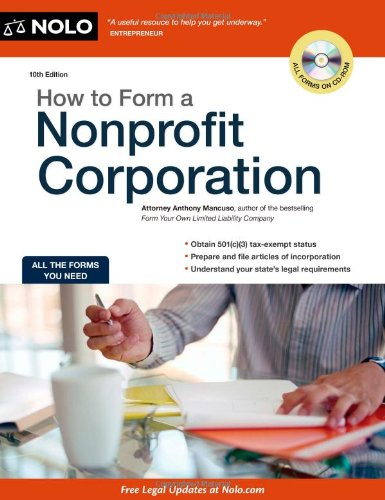 How to Form a Nonprofit Corporation (How to Form a...