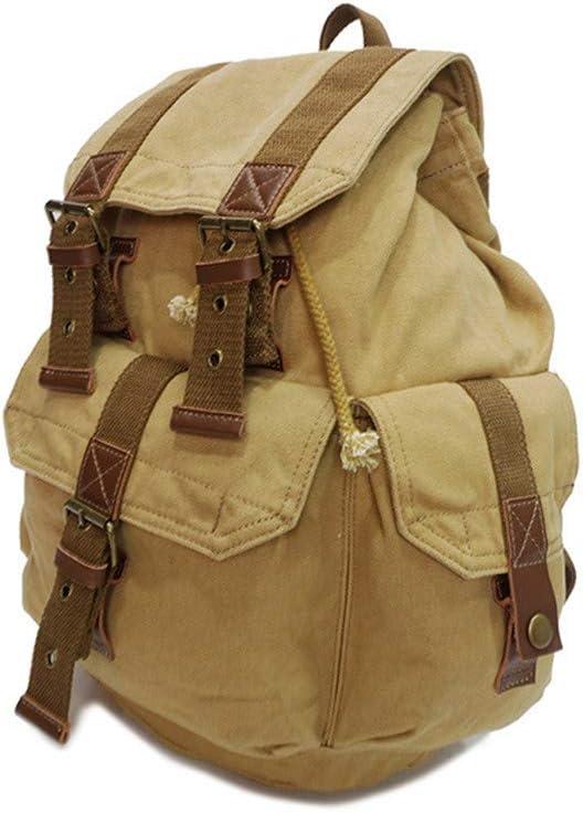University /& M Travel Backpack Mens Bag Backpack Casual Waterproof Multi-purpose Canvas Bag Large Capacity Backpack Wear Backpack Canvas Mens Backpack Computer Bag Outdoor Travel For Travel School