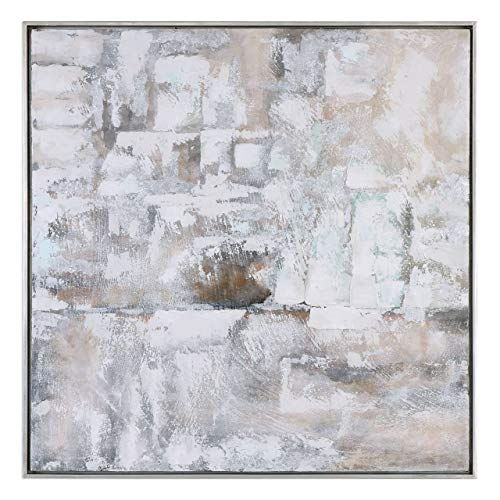 Silver Leaf Finish Wall - Uttermost 35349 Luxe - 41.38
