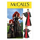 McCall Pattern Company M6817 Misses'/Children's/Girls' Costumes Sewing Template, Size KID [(3-4) (5-6) (7-8)]