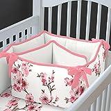 Carousel Designs Cherry Blossom Crib Bumper