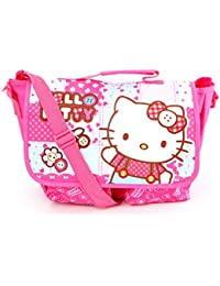 Hello Kitty Messenger Bag: Patchwork