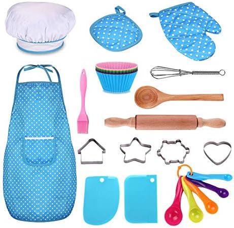 Kids Cooking Baking Set Utensils product image