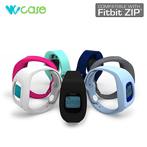 wocase-zipband-fitbit-zip-accessory-wristband-bracelet-deluxe-pack-of-7-fits-most-wrist-2016-upgrade