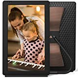 Nixplay Seed Wave 13.3 Inch Digital WiFi Photo Frame W13C Black - Digital Picture Frame with Bluetooth Speakers, Motion Sensor and 10GB Storage, Display and Share Photos via The Nixplay Mobile App
