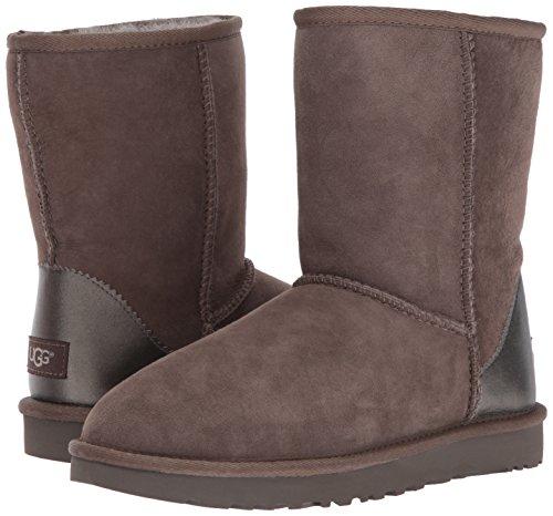 Ii Short Classic Ugg Bootss Metallic Ardoise wAIqM1