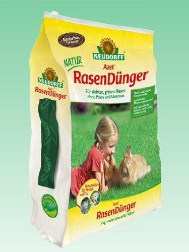 Neudorff Azet RasenDünger | 5 kg für dichten Rasen ohne Moos
