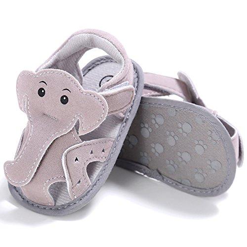 9e9b82e1f6c79 bien FEOYA Sandale en Velcro Chaussures de Dessin Animé Bébé Fille Garçon  Été Anti-dérapant