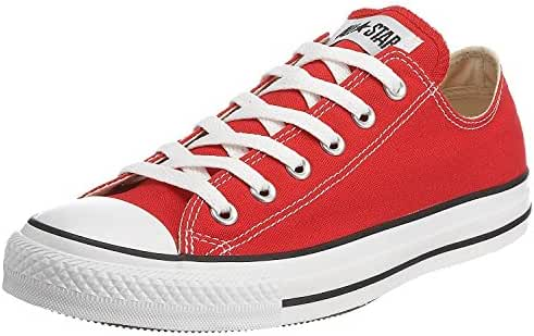 Converse Unisex Chuck Taylor All Star Ox Low Top (Red) Sneakers - 6.5 D(M) US