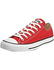 Converse Star Chuck Taylor Sneakers (9 B(M) US Women/7 D(M) US Men, Red)