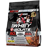 Six Star 100% Whey Isolate Protein Powder, Decadent Chocolate, 4 Pound Review