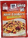 McCormick Slow Cookers Fiesta Chicken Seasoning Mix 1.5 OZ (Pack of 12)