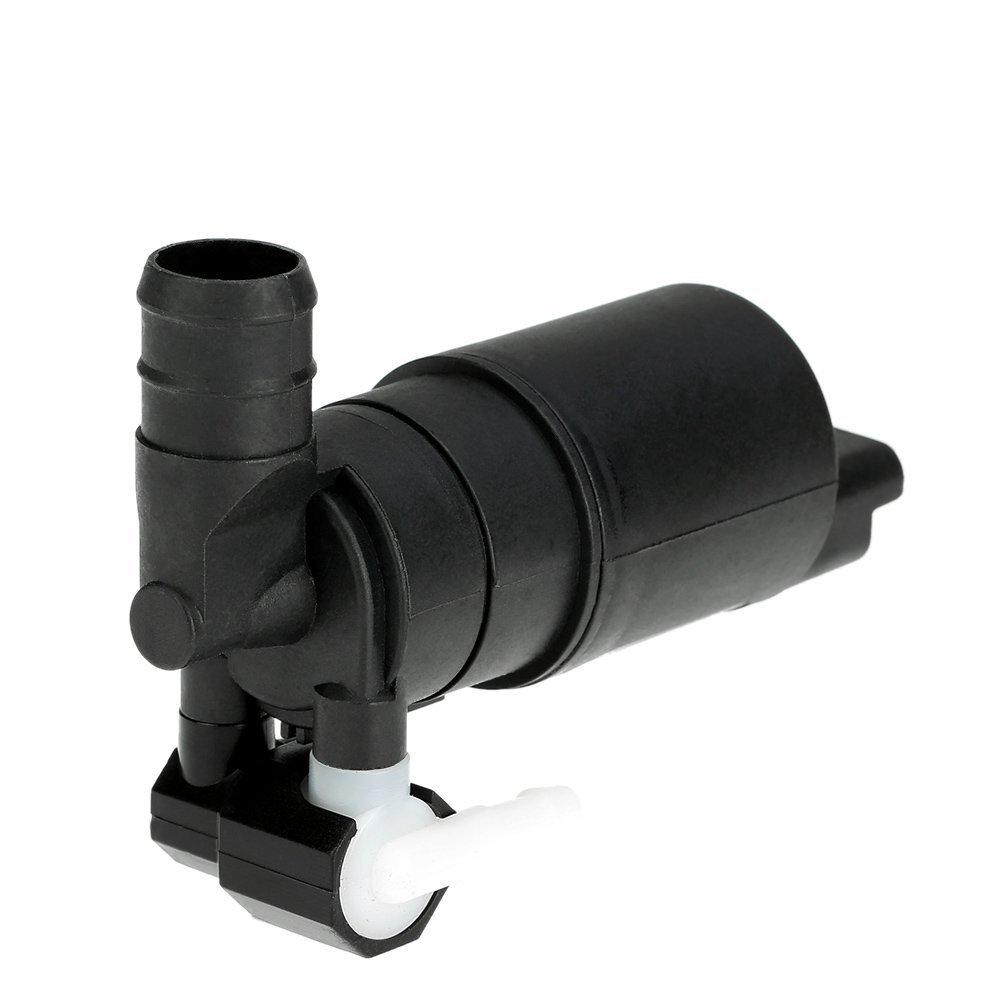 KKmoon 12V Bomba de Agua Lavadora de Parabrisas Doble Salida Lavado para Coche Citroen Xsara Picasso