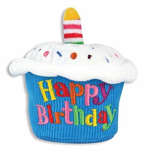 Cuddle Barn Birthday Cupcake Squeezer Lights Up and Plays Happy Birthday When Squeezed (Classic) - Cupcake Birthday
