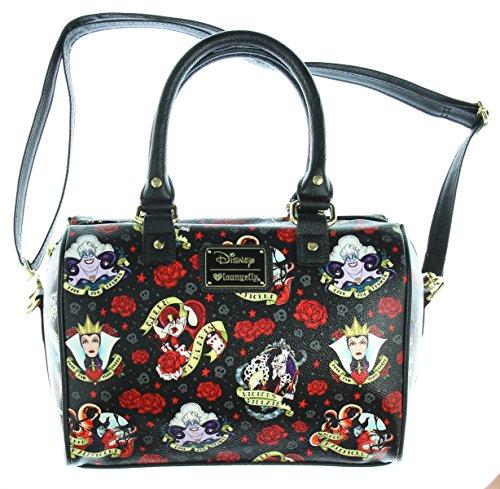 loungefly-disney-female-villains-roses-malificent-vegan-shoulder-bag-purse