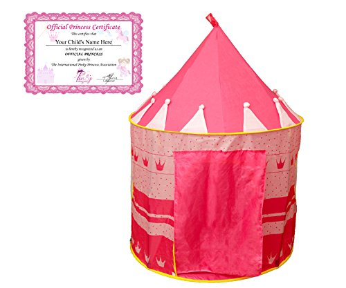 PinkyPrincess Princess Childrens Official Certificate