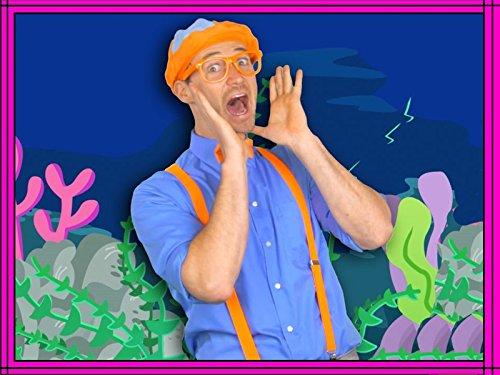 Ocean Animal Song by Blippi - Nursery Rhyme Songs for Children ()
