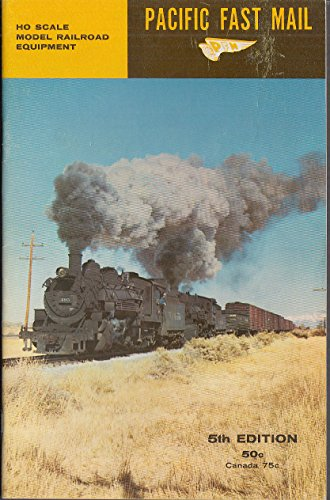 Pacific Fast Mail HO Trains Catalog 5th ed 1960 w/ for sale  Delivered anywhere in USA