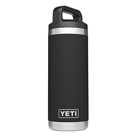 abbcfbd0f5a YETI Rambler 18oz Vacuum Insulated Stainless Steel Bottle with Cap