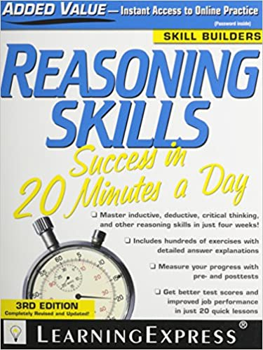 Reasoning Skills Success in 20 Minutes a Day: LearningExpress LLC ...