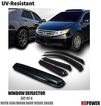 FOR 97-04 DODGE DAKOTA SMOKE TINT WINDOW VISOR//WIND DEFLECTOR VENT RAIN GUARD