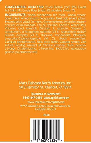 Image of API GOLDFISH FLAKES Multi Color Fish Food For Freshwater Aquarium Goldfish, 5.7-Ounce