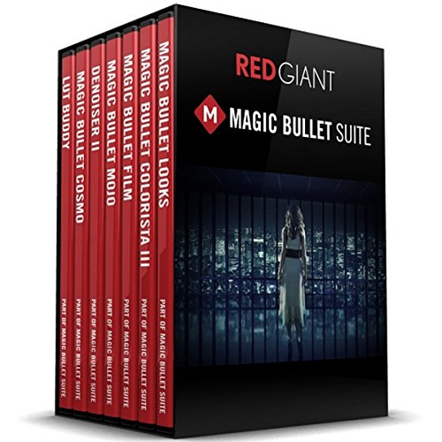 Red Giant Magic Bullet Suite 12.0 | Color Correction Finishing Film Looks Filmmakers Software Suite Electronic Delivery by Red Giant