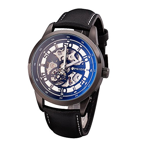 Qiyan Fashion Casual Luxury Sport Men Automatic Watch Blue