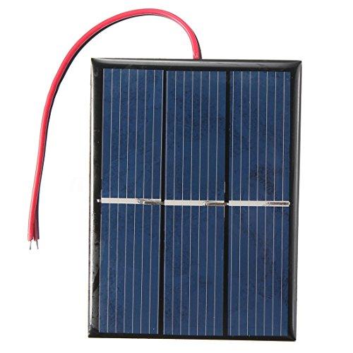 TOOGOO(R) 1,5V 0,65W Solar panel Solar module Solar cell Polycrystalline 60803MM For Sale