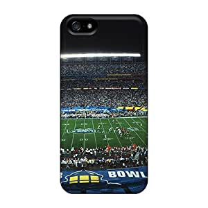 For Iphone 5/5s Fashion Design Battle Of Texas Vs California Stadium Case-JhCgmaV1114RQlGT
