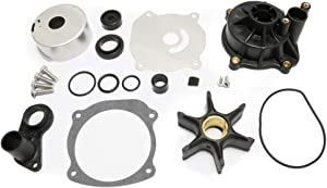 WINGOGO 5001594 Water Pump Impeller Repair Kit with Housing Replacement for Johnson Evinrude Outboard V4 V6 V8 85-300HP Boat Motor Parts 390768 391637 392750 393082 395060 395062 435447 434421 435929