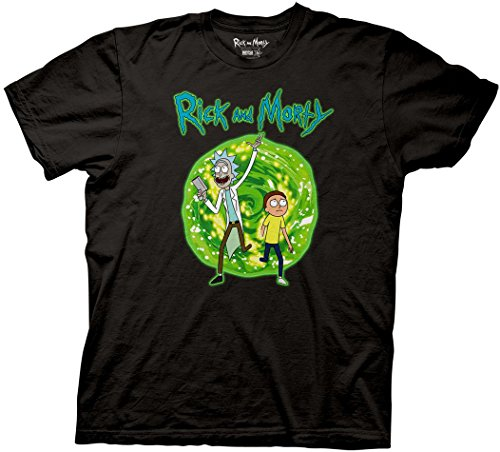 RICK AND MORTY Portal T-Shirt M
