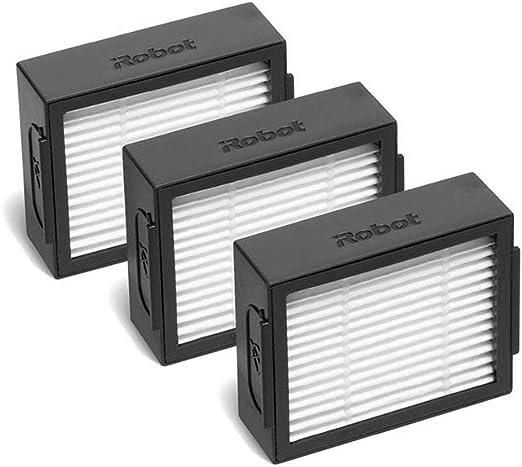 iRobot - Pack de 3 filtros de alta eficiencia para aspirador ...