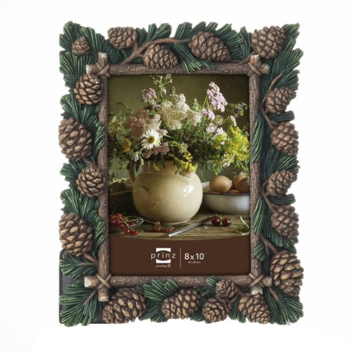 Branch Picture Frame (Prinz Pine Forest Resin Frame in Nature Pine Finish, 8 by)