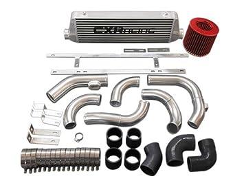 Intercooler de tuberías de montaje frontal para 2010 + Chevrolet Cruze (modelos 1.4T Turbo negro manguera: Amazon.es: Coche y moto