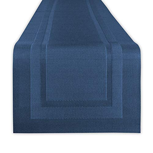 DII 5204 Table Runners, Space Dyed Nautical Blue