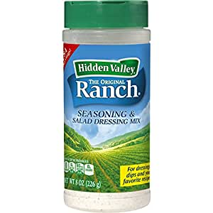 Hidden Valley Original Ranch Salad Dressing & Seasoning Mix Canister - 8 Ounces - 1 Canister