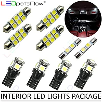 Amazon.com: LEDpartsNow Interior LED Lights Replacement for 2007-2014 Ford Edge Accessories Package Kit (10 Bulbs), WHITE: Automotive