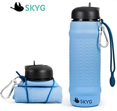 24 oz. Single Foldable Water Bottle Carry in Your Pocket