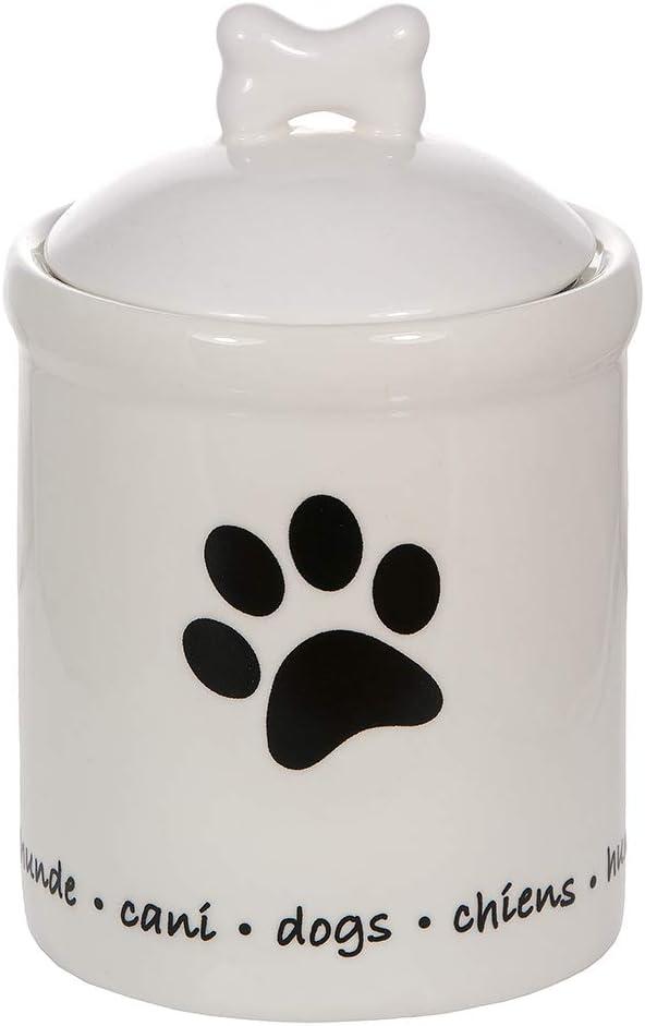 tarro de almacenamiento diseño perros
