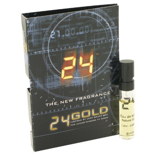 24 Gold The Fragrance Jack Bauer by ScentStory - Vial (sample) .04 oz 24 Gold The Fragrance Jack Ba by (0.04 Ounce Vial)