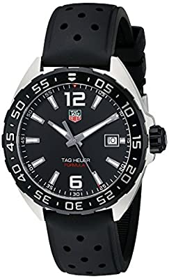TAG Heuer Men's WAZ1110.FT8023 Formula 1 Stainless Steel Watch with Black Band by TAG Heuer