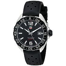 TAG Heuer Men's WAZ1110.FT8023 Formula 1 Analog Display Swiss Quartz Black Watch