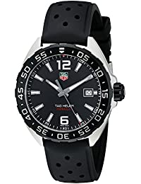 Men's WAZ1110.FT8023 Formula 1 Stainless Steel Watch with Black Band