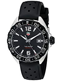 TAG Heuer Men's WAZ1110.FT8023 Formula 1 Analog Display Swiss Quartz Black Watch