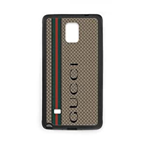 Exquisite stylish phone protection shell Samsung Galaxy Note 4 Cell phone case for GUCCI LOGO pattern personality design