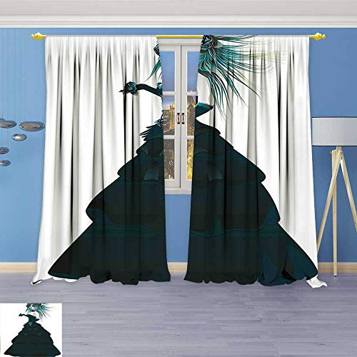 Philiphome Room Darkening Window Curtain Panel Pair Collection