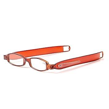 9250ce21f4b Liansan 360 Rotating Reading Glasses 45mm 23mm Slim Mini Portable  Lightweight Men Women s Reading Eyeglasses
