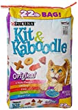 Cheap Purina Kit and Kaboodle Dry Cat Food, Original, 22 Lb Bag, Features 4 Tasty Flavors: Chicken, Liver, Turkey, Ocean Fish (1)